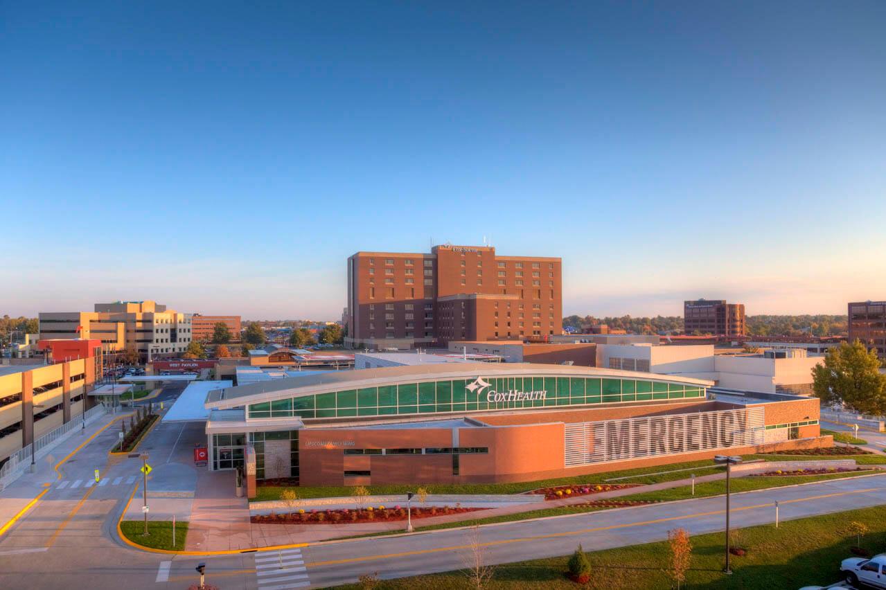 Cox Health Emergency Queen City Roofing